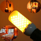 E27 E14 B22 LED Burning Light Flicker Flame Lamp Bulbs Fire Effect  Decoration