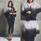 UK Women's Winter Warm Outwear Ladies Overcoat Coat Jacket Faux Fur Warm New