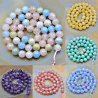 8MM Grade A Natural Gemstone Round Smooth Loose Beads 15.5