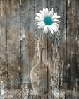Rustic Teal Brown Home Decor Living Room Bedroom Teal Wall Art Pictures