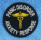 """HOOK BACKING PANIC DISORDER ANXIETY RESPONSE SERVICE DOG PATCH 3"""" Danny & LuAnns"""