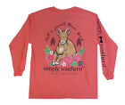 Simply Southern Small Town Girl Youth Long Sleeve Tee