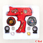 Beyblade 4D Metal Master Fusion Top Rapidity Fight Launcher Grip Set Collection