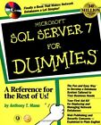 Microsoft SQL Server 7 For Dummies by Mann  Anthony T. 0764504169 The Fast Free
