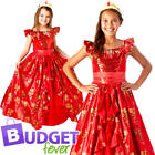 Disney Princess Elena of Avalor Girls Fancy Dress Fairy Tale Kids Childs Costume
