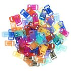 "Craft County 100-200 Piece 3/8"" Contoured Side Release Buckles (Assorted Colors)"
