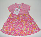 NWT Baby Lulu floral striped dress 100% cotton 2T or 3T
