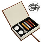 Initial Letter Vintage Wax Badge Seal Stamp Wax Kit Set Tool Letter Greetings