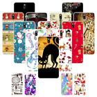 For HTC Desire 610 610T Christmas Plastic Case Cover 2018 New Year Tower Cat