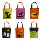 Halloween Pumpkin Candy Bag Ghost Black Cat Witch Hat Bat Trick-or-Treat Bags