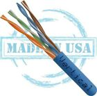 PLENUM BULK Cat5e BARE COPPER Cable  Solid 24AWG  200,300,400,500FT