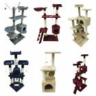 40~180cm Kitten Cat Tree Scratching Post Activity Centre Bed Toy Scratcher Home