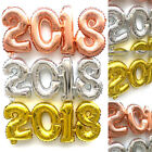 2018 New Year Number Foil Balloon Gold / Silver /Rose Gold Party Decoration Prop
