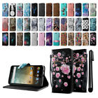 For ZTE N817 Quest Uhura Card Leather Flip Wallet Cover Pouch Case Stand + Pen