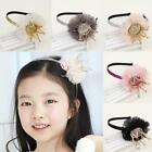 Mesh Crown Rhinstone Pattern Hair Hoop Head Band Hair Accessories For B20E