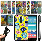 For LG G Stylo LS770 G4 Note G H740 2nd Gen Black TPU SILICONE Case Cover + Pen