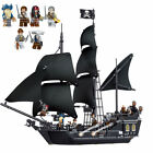 Gifts 16006 Black Pearl Ship 4184 Pirates of The Caribbean Movie Custom Blocks