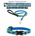 """Lupine Lifetime Limited Edition Dog Collars or Leashes - 1/2"""" -  BLUE BEES"""
