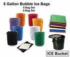 5 Gallon Bubble 5 or 8 Bags Hash Resin Rose Oil Extractor Filtration Kit Ice