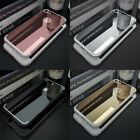 Soft Silicone TPU Clear Bumper Phone Case Cover Luxury Ultra Slim Mirror Back
