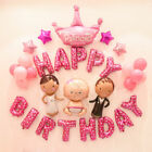 Large Crown Pattern Foil Balloon Birthday Decoration Wedding Party Baby Balloon