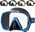 Tusa M-1001 Freedom HD Dive Snorkel Mask Varied Silicone Thickness for Great Fit
