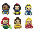 4-6PCS Baby Princess Trolls Cartoon Shoe Charm Shoe Accessories Kids Xmas Gifts image