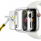 Apple Watch Series 6/5/4/3/SE 44/42mm Snap On Bumper Case Cover+Screen Protector <br/> Full Coverage Case🔥HIGH-QUALITY🔥Fast Ship From US🔥