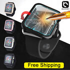 Apple Watch Series 3/2/1 38/42mm Snap On Bumper Hard Case Cover Screen Protector