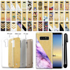 "For Samsung Galaxy Note 8 N950 6.3"" Slim Sparkling Gold TPU Case Cover + Pen"