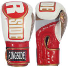 Ringside Apex Fitness Bag Boxing Gloves - White/Red/Gold