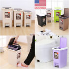 indoor bin - US 8L-20L Large Capacity Toilet Waste Bins Indoor Foot Pedal Trash Can with Lid