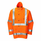 GORE-TEX Mens Hi Viz Waterproof Windproof Breathable Jacket Coat RIS-3279-TOM