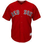 Boston Red Sox Majestic Authentic Alternate Red Jersey