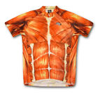 SALE Muscles Cycling Jersey Men's Short Sleeve by Suarez FREE SHIPPING  bicycle