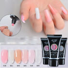 30ml Nail Bare Pink Quick Poly Building Extension UV LED Gel Makeup Tools