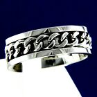 Wedding Band Mens Stainless Steel Chain Engagement Anniversary Ring
