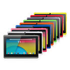 "7"" Quad Core Tablet PC 8GB Android 5.1 HD Dual Camera WiFi 3D Game Refurbished"