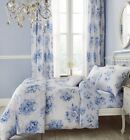 Catherine Lansfield Floral Quilt Duvet Cover Bedding Bed Set Or Accessories Blue