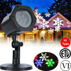 R&G LED Moving Laser Light Projector Landscape Outdoor Garden Party XMAS Lamp US