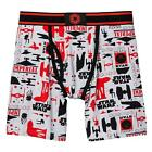 Star Wars Mens Gray Imperial Galactic Empire Death Star Boxer Briefs