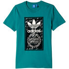 adidas Originals Tongue Label Tee Herren-Shirt T-Shirt Kurzarm Trefoil