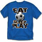 Eat Sleep Play Soccer - T-Shirt - Youth Sizes