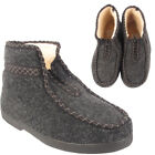 MENS UNISEX LADIES WINTER FLEECE TEXTILE WARM NEW CASUAL ZIP BOOTS SHOES SIZE UK