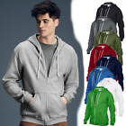 Anvil Fashion Full Zip Hooded Sweatshirt Sweatshirts Hoodies-Mens Adult Classic