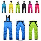Women Mens Ski Snow Pants Insulated Waterproof Winter Windproof Overall