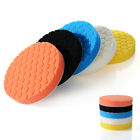 5Pcs 3/4/5/6/7inch Buffing Sponge Polishing Pad Kit Waxing Set Car Auto Polisher