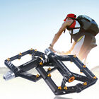 1 Pair Aluminum alloy Bicycle Pedal flat Platform MTB Mountain Road Bike Pedals