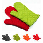 1Pc Cotton Heat Insulated Gloves Oven Grill Pot BBQ Mitt Hands Protector 18*28cm