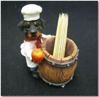 Dog Figure Toothpick Chef POODLE